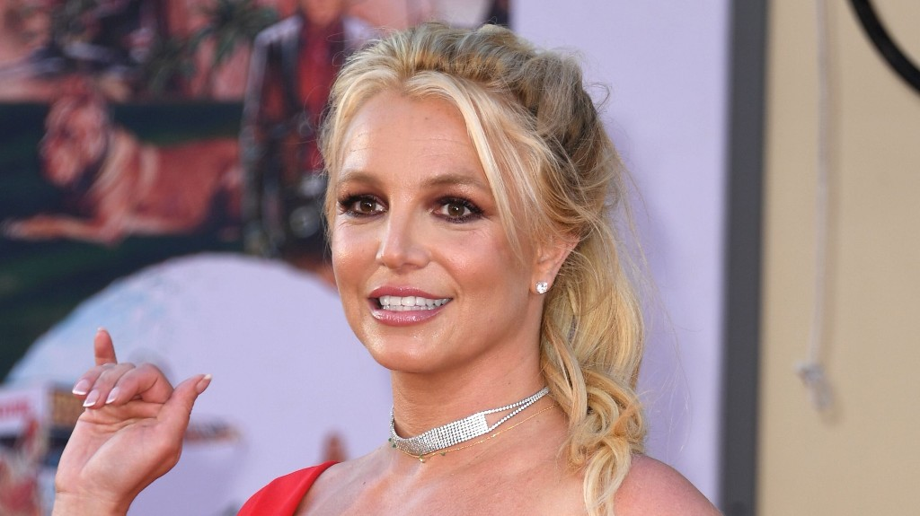 Britney Spears says she's on vacation with Sam Asghari to 'work on' herself amid conservatorship battle