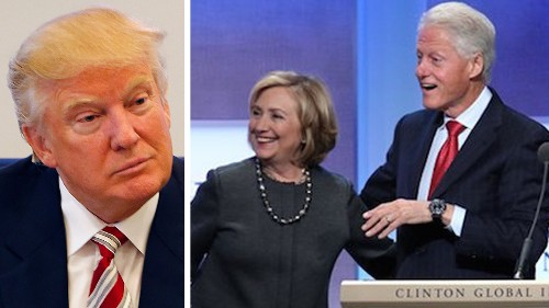 Trump calls for Clinton Foundation to be shut down