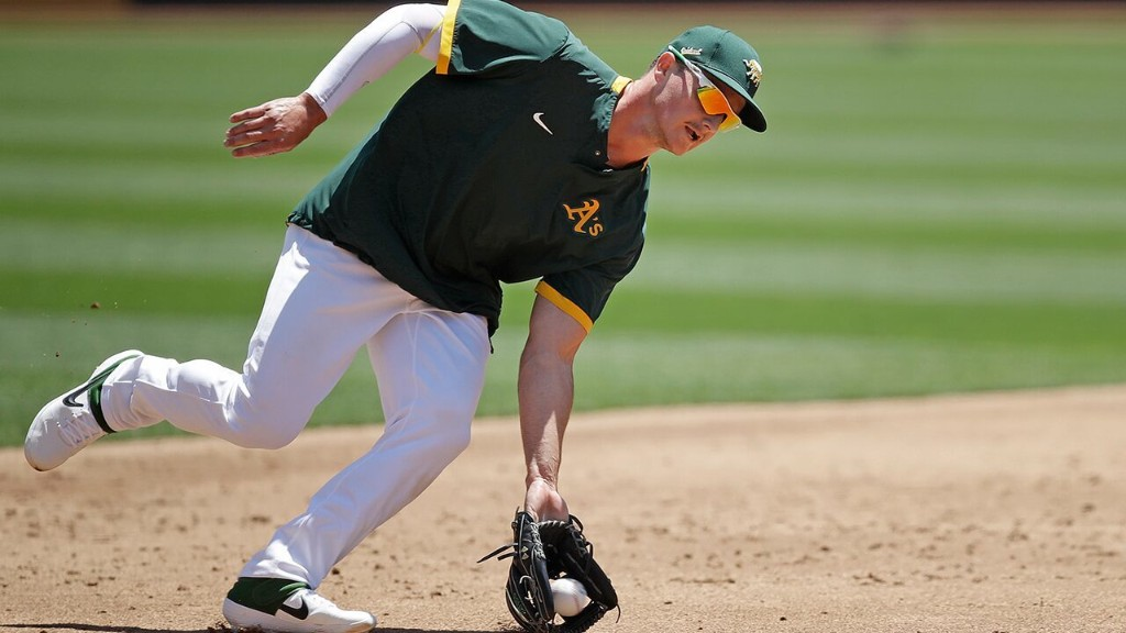 Athletics' Matt Chapman on having no fans in stadium: 'It just plays to our advantge'