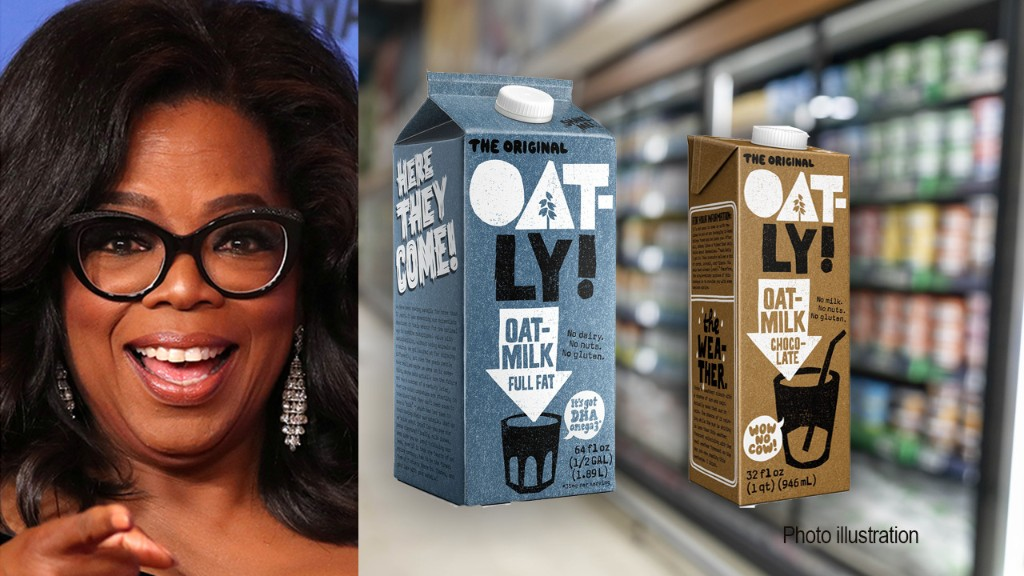 Oat-milk company Oatly draws investment from Blackstone-led group including Oprah