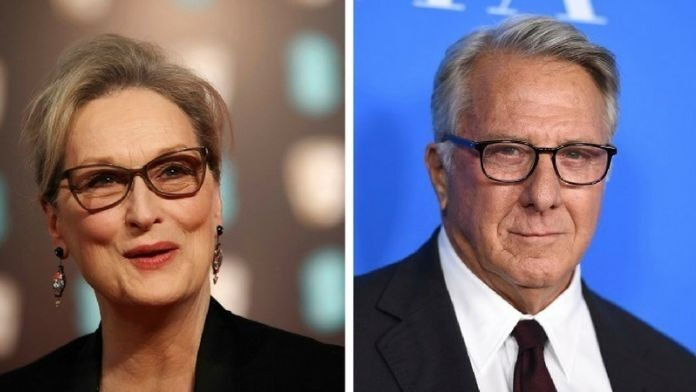 Meryl Streep says interview where she claimed Dustin Hoffman grabbed her breast was 'inaccurate'