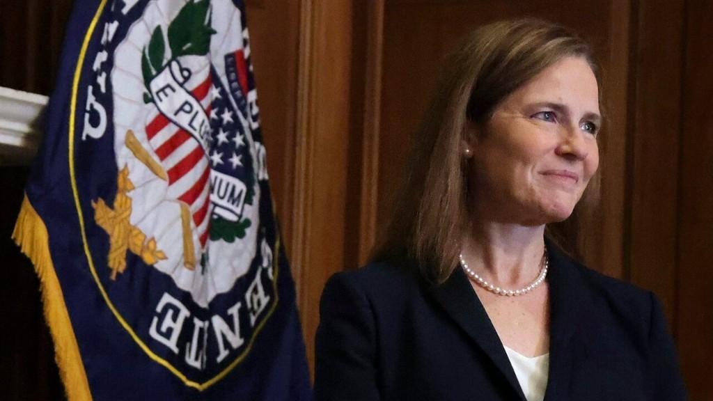 Amy Coney Barrett sworn in as Supreme Court Associate Justice