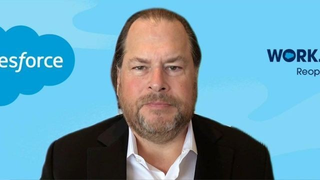 Information technology can mitigate interactions with coronavirus: Salesforce CEO