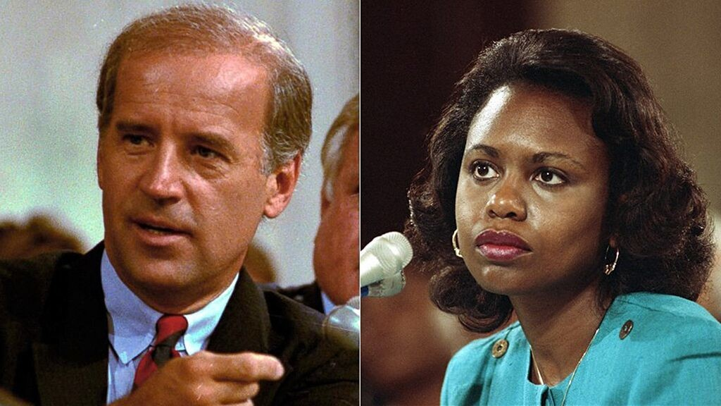 Criticism of Joe Biden's treatment of Anita Hill continues to nag presidential campaign