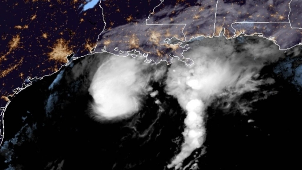 Tropical Storm Beta crawls off Texas coast, threatens flash flooding into Louisiana