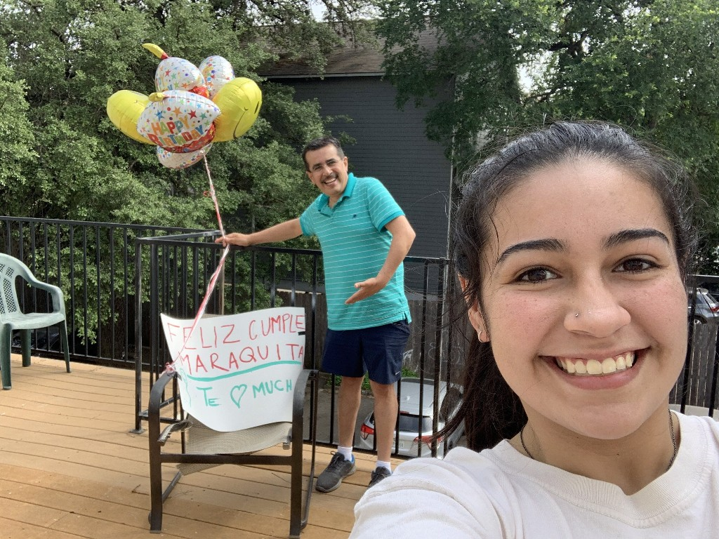 Texas dad drives over  1K miles to surprise daughter with Chick-fil-A for 19th birthday