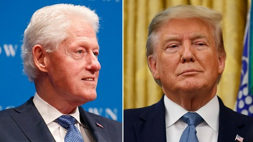 Bill Clinton offers Trump impeachment advice: 'You got hired to do a job'