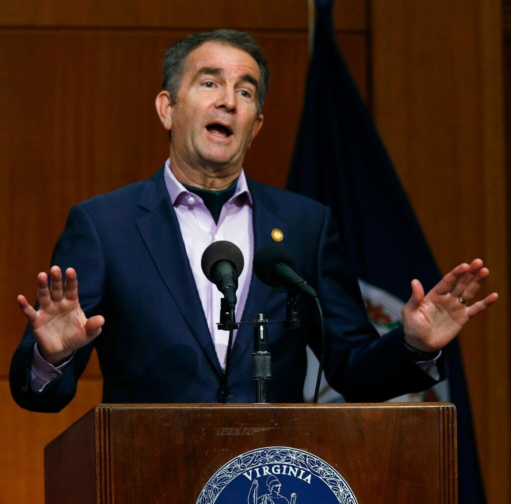 Virgina Gov. Northam criticized after not wearing mask or social distancing on beach