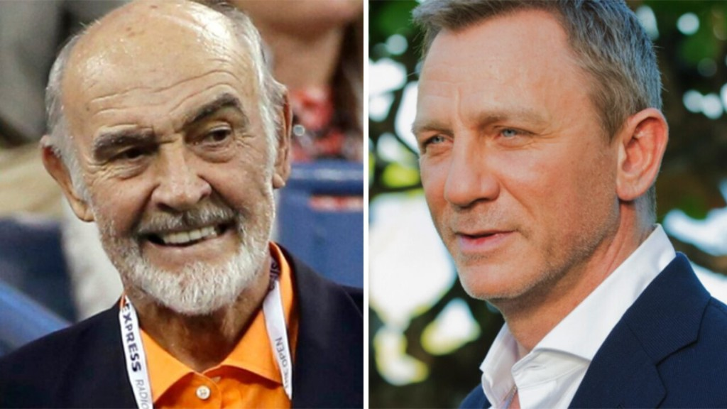 James Bond actor Daniel Craig reacts to Sean Connery's death: 'He defined an era'