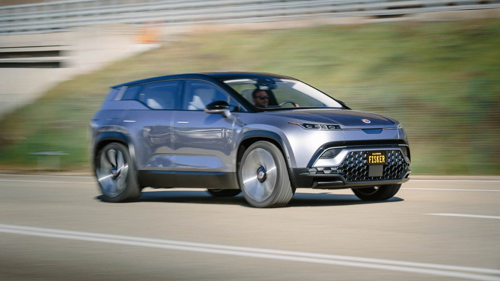 Magna to build startup Fisker's electric SUV