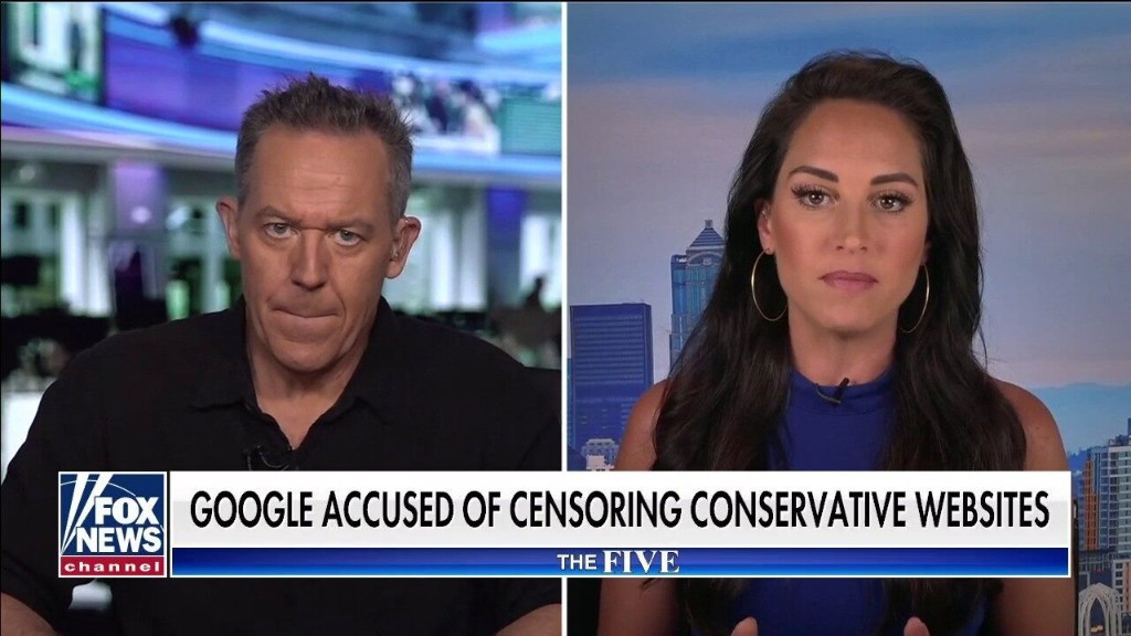 Greg Gutfeld rips Google for 'really frightening' crackdown on The Federalist: 'It is silencing speech'