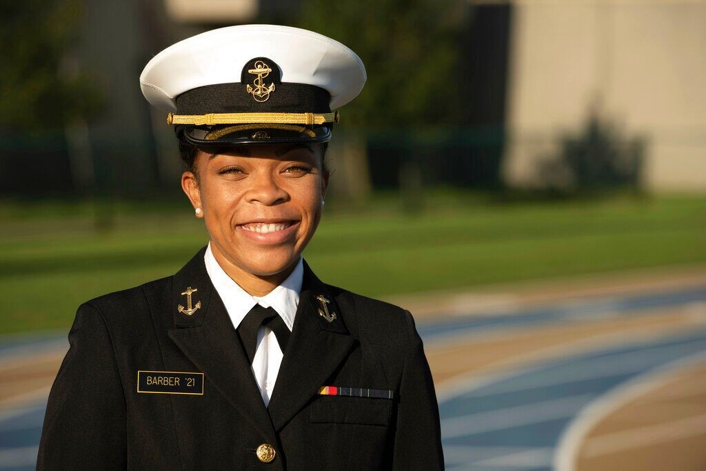 Naval Academy: 1st Black woman named student brigade leader