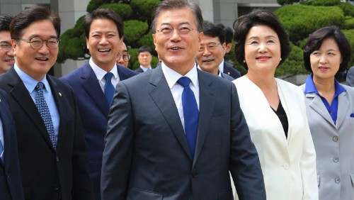 The Latest: SKorea to buy shale gas, build new US factories