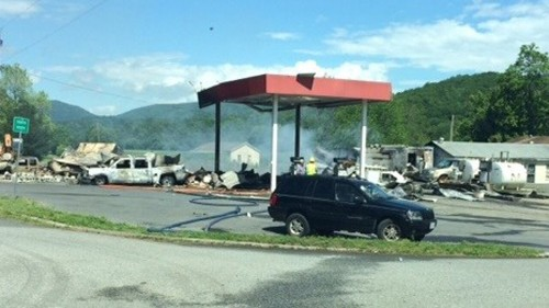Virginia gas station explosion: death toll rises to 3, 4 more injured
