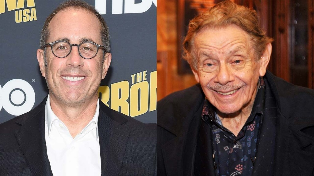 Jerry Stiller was 'never' given performance note by Jerry Seinfeld on show, comedian says: 'Whatever he did, that's it'