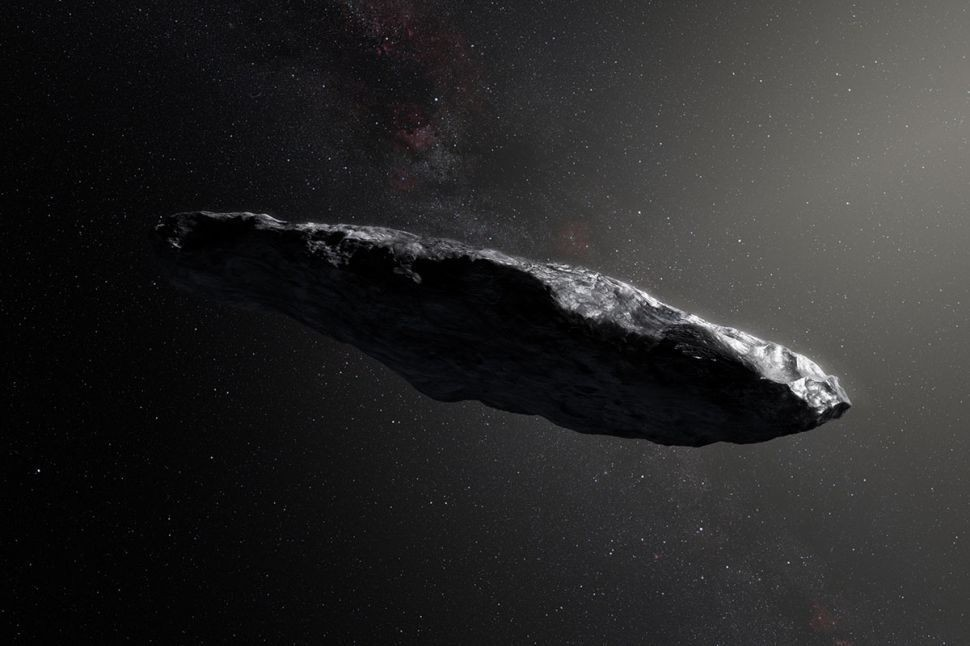 Mysterious interstellar 'Oumuamua could be made of something almost unheard of in science