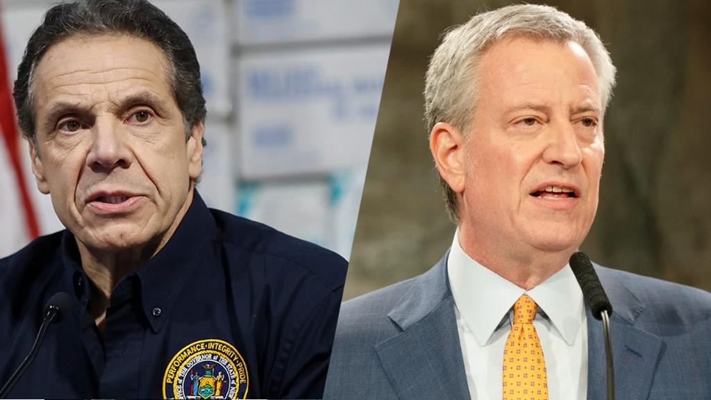 Cuomo threatens to 'displace' NYC Mayor Bill de Blasio