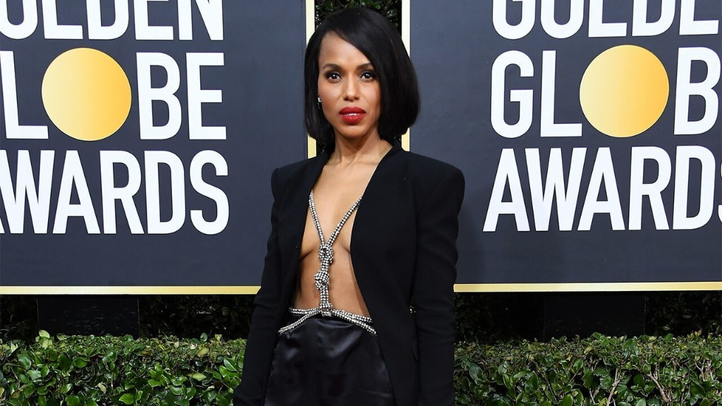 Kerry Washington's outfit at the Golden Globe Awards leaves fans speechless: 'There are no words'