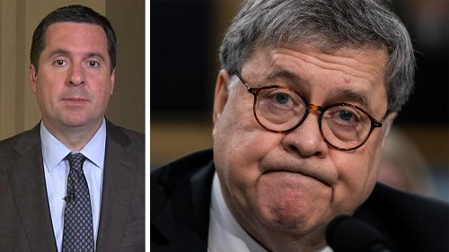 Nunes sends criminal-referral notification to Barr, alleges several 'potential violations' in Russia probe