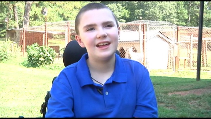 Georgia boy robbed of ability to walk asks for birthday cards