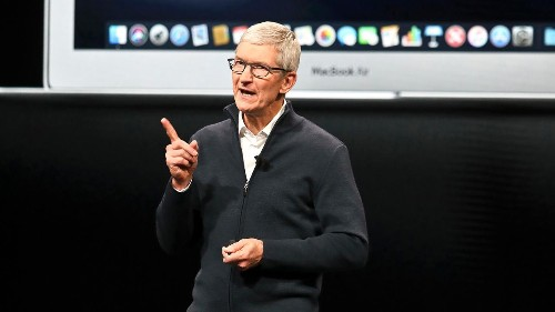 Tim Cook says many Apple colleagues are 'Dreamers,' praises House for passing bill offering path to citizenship