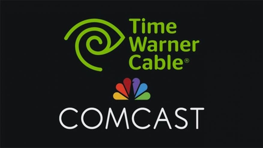 The Comcast and Time Warner Merger - Magazine cover