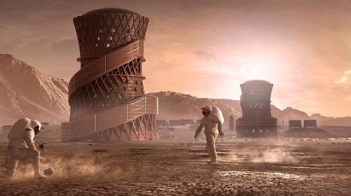 Mars colonists 'will become super-mutants with cancer-immune skin' – but could die 'if they mate with Earth...