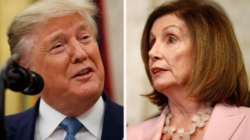 Nancy Pelosi says Trump's rally comments about Biden 'beyond the pale,' rips Senate Republicans' 'cowardice...