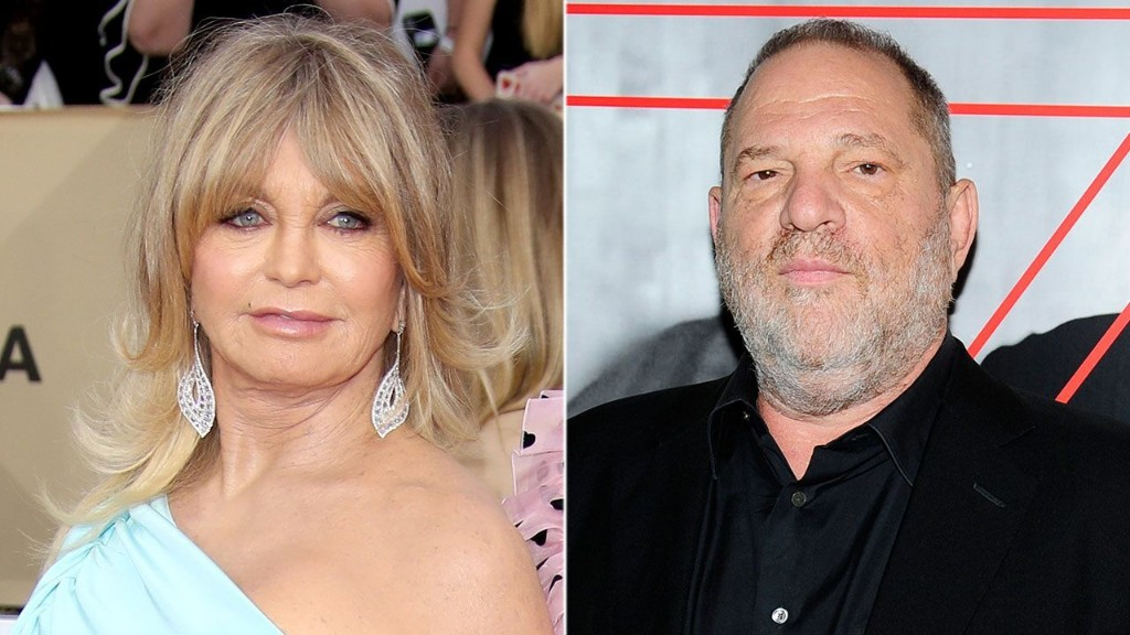 Goldie Hawn recalls confronting Harvey Weinstein over scrapped 'Chicago' movie role: 'I didn't back down'