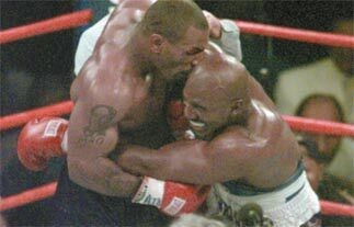 Mike Tyson eats Roy Jones Jr.'s 'ear' in Thanksgiving video: 'Tastes so much better than Evander's'