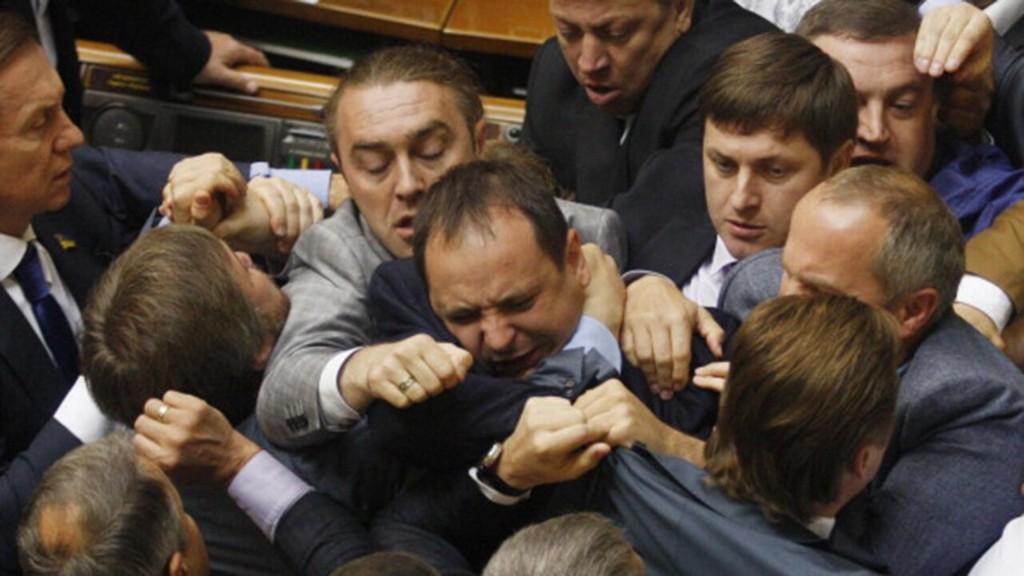5 of the wildest parliament brawls