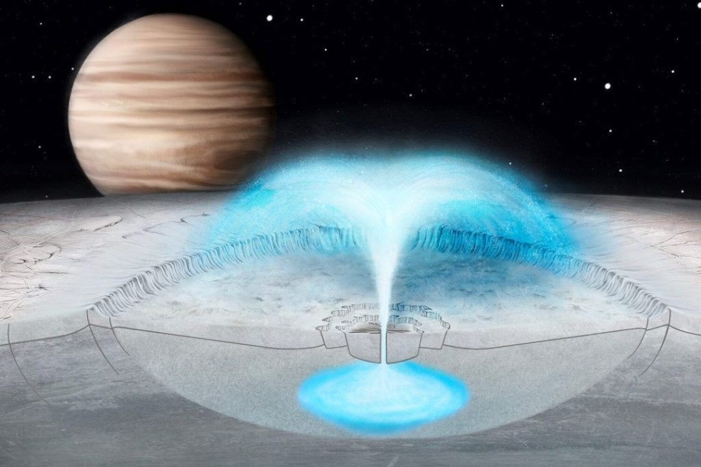 One of the best places to look for life in the solar system is erupting with water: scientists don't know why