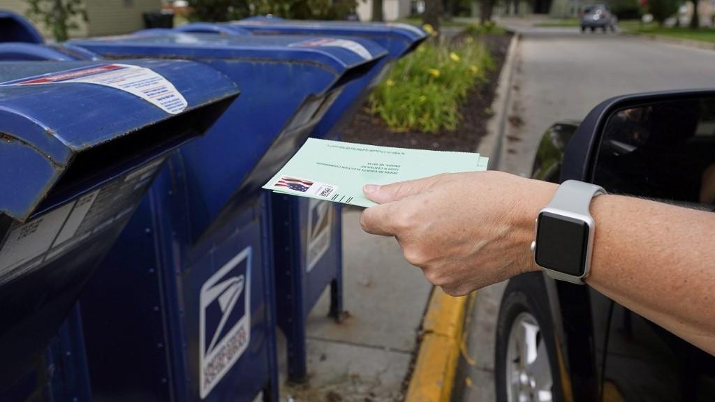 2020 presidential election ballots cast so far