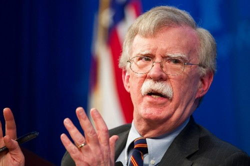 Bolton told aide to alert National Security Council lawyer over Ukraine meeting