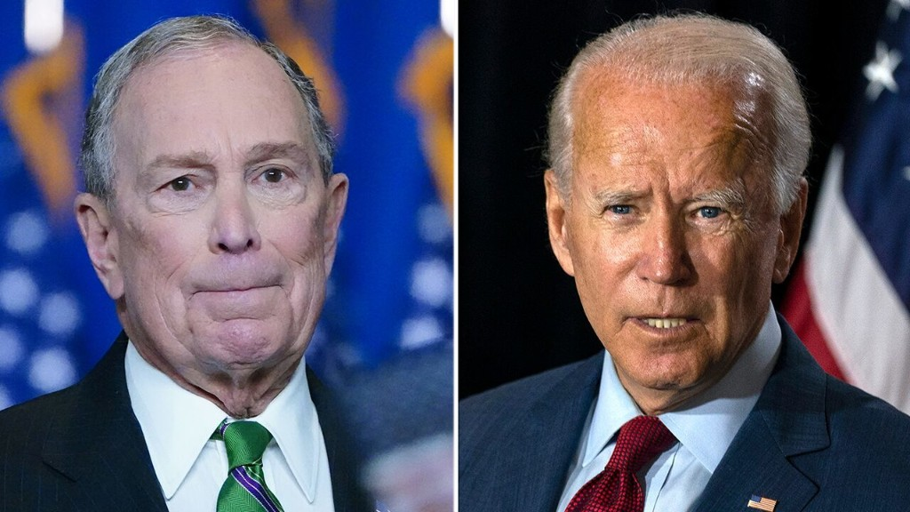Bloomberg to back Biden by spending $100M in Florida