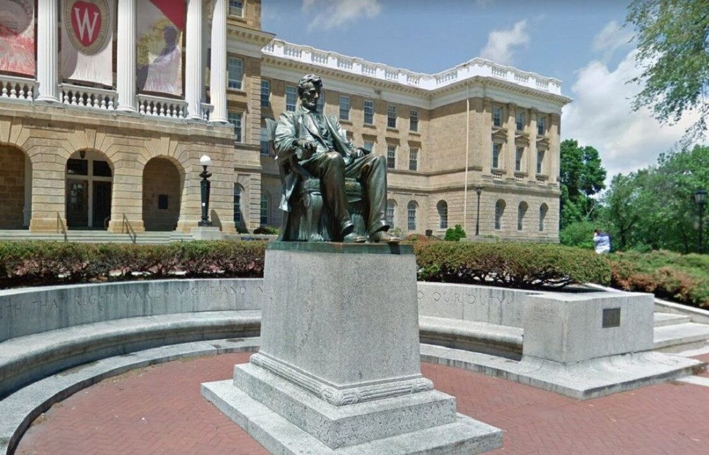 University of Wisconsin students say Abraham Lincoln statue at Madison campus must come down