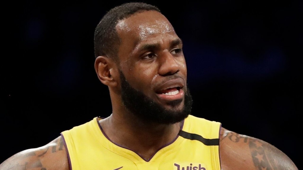 LeBron James wonders why California high school basketball can't be played