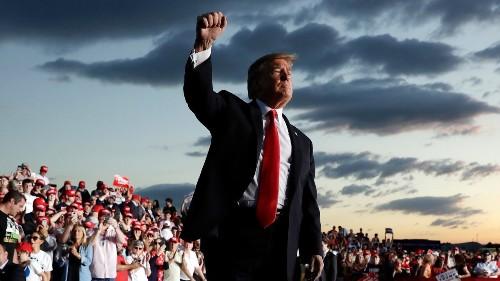 Déjà vu: Trump launches re-election bid with tough immigration talk