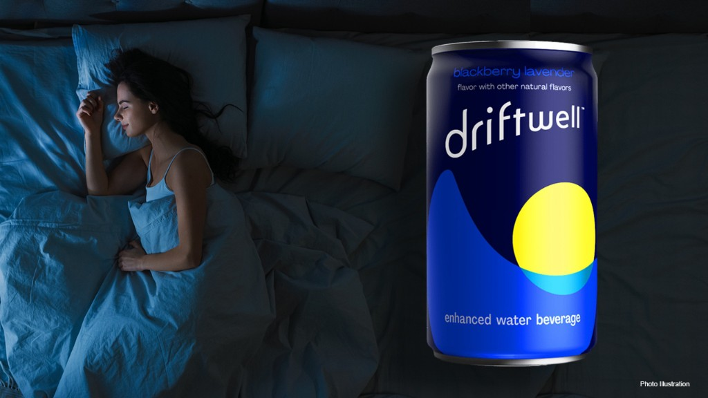 PepsiCo's new DriftWell aimed at aiding relaxation and sleep