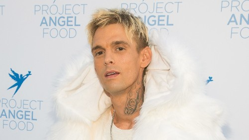 Aaron Carter's girlfriend Melanie Martin arrested for alleged domestic violence