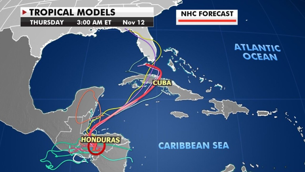 Eta may threaten Florida after devastating Central America with deadly flooding