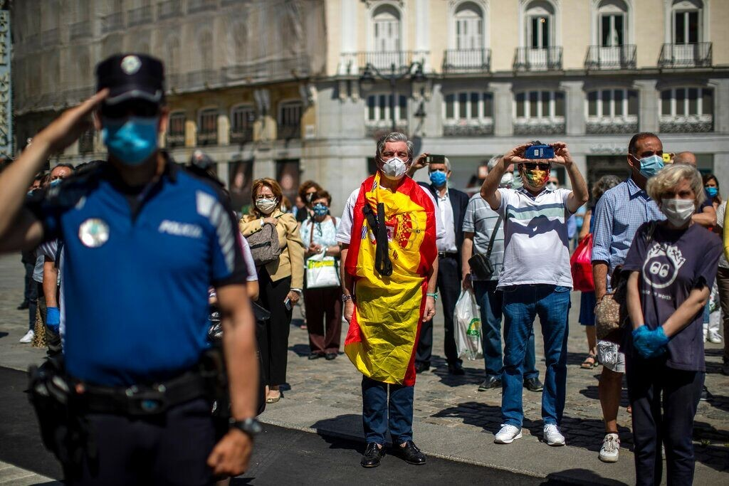 Spain comes to standstill as 10-day mourning period for coronavirus victims begins