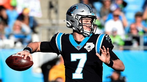 Kyle Allen recalls emotional moment Panthers fired head coach Ron Rivera: 'Not a dry eye in the room'