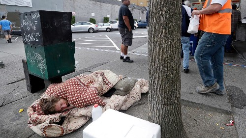 Seattle police officer files $10M claim against city for exposure to 'toxin' while cleaning homeless camp