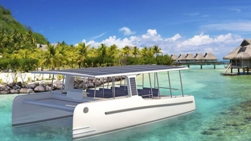 This solar-powered yacht will revolutionize luxury boating