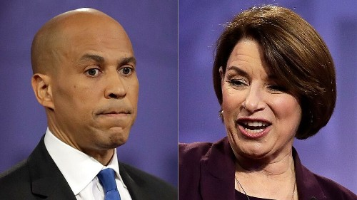 Klobuchar, Booker rule out recusing themselves from Trump impeachment trial