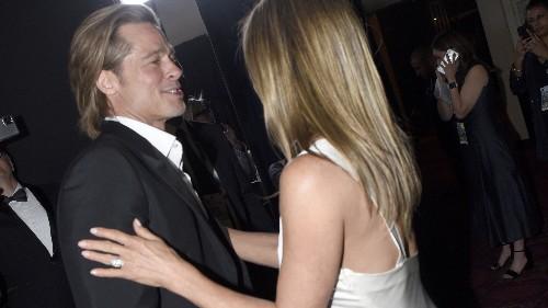 Jennifer Aniston reacts to Brad Pitt watching her SAG Awards acceptance speech: 'So sweet'