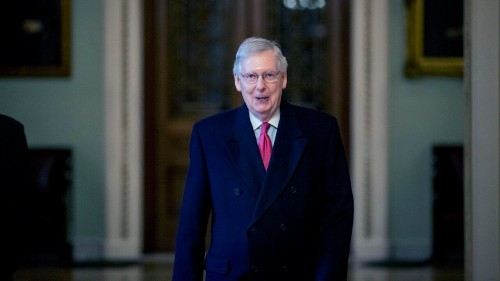 McConnell accuses Democrats of throwing 'partisan tantrum' over shutdown