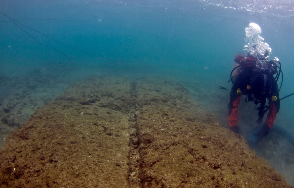 Team discovers ancient naval base off the coast of Athens