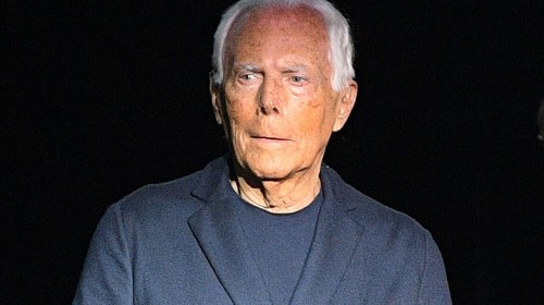 Giorgio Armani claims women pushed to be 'half-naked' in fashion ads are being 'raped'